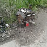 Litter/Illegal Dumping at 126 RANCH DR